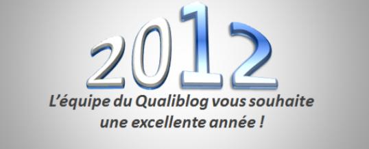 Qualiblog vous souhaite une bonne année 2012