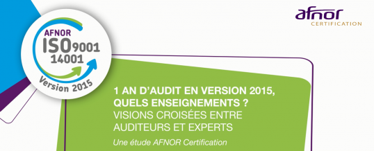 1 an d'audits en version 2015, quels enseignements ? (partie 1/3)